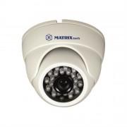 Купольная внутренняя  камера  видеонаблюдения MATRIX MT-DW1080AHD20S