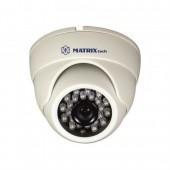 Купольная камера видеонаблюдения MАTRIX MT-DW720AHD20Х