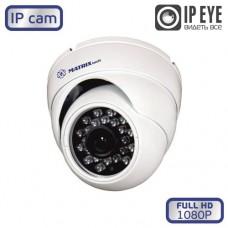 Купольная IP видеокамера MT-DW1080IP20S PoE (2,8мм) audio