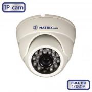 Купольная IP видеокамера  MT-DW1080IP20X DC (3,6мм)