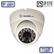 Купольная IP видеокамера MT-DW1080IP20SL DC (2,8мм)