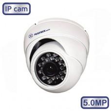 Купольная камера MT-DW5.0IP20S PoE (3.6)