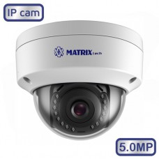 Купольная камера MT-DW5.0IP20VS PoE