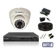 Комплект видеонаблюдения для помещений на 1 камеру FULL HD