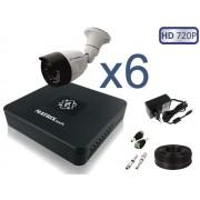 Комплект Уличное видеонаблюдения на 6 камер