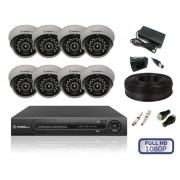 Комплект Внутреннего видеонаблюдения на 8V камер FULL HD