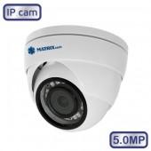 Камера видеонаблюдения MATRIX MT-DW5.0IP20S PoE audio (2.8)